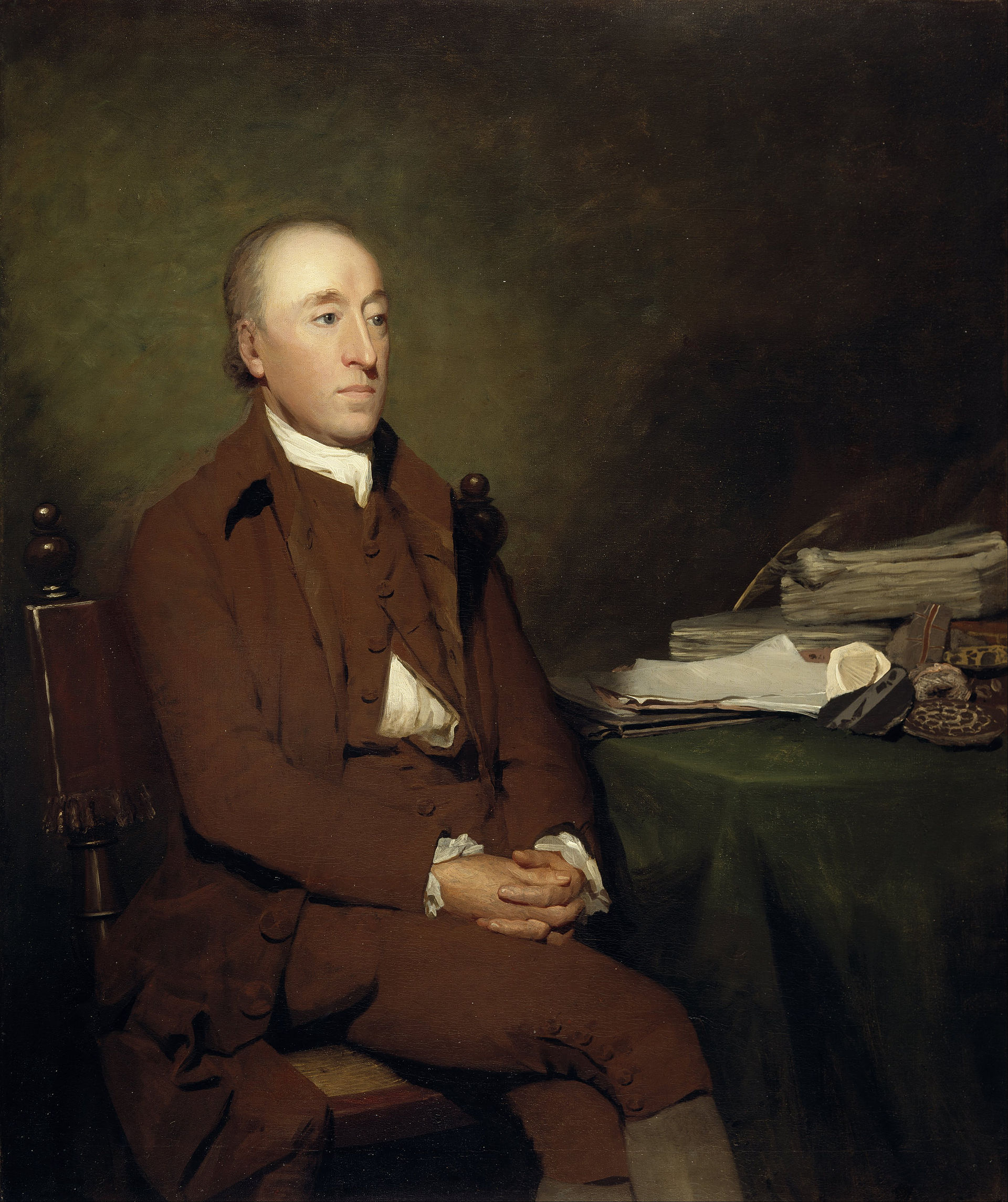 Portrait of James Hutton by Sir Henry Raeburn (public domain; Wikimedia Commons).