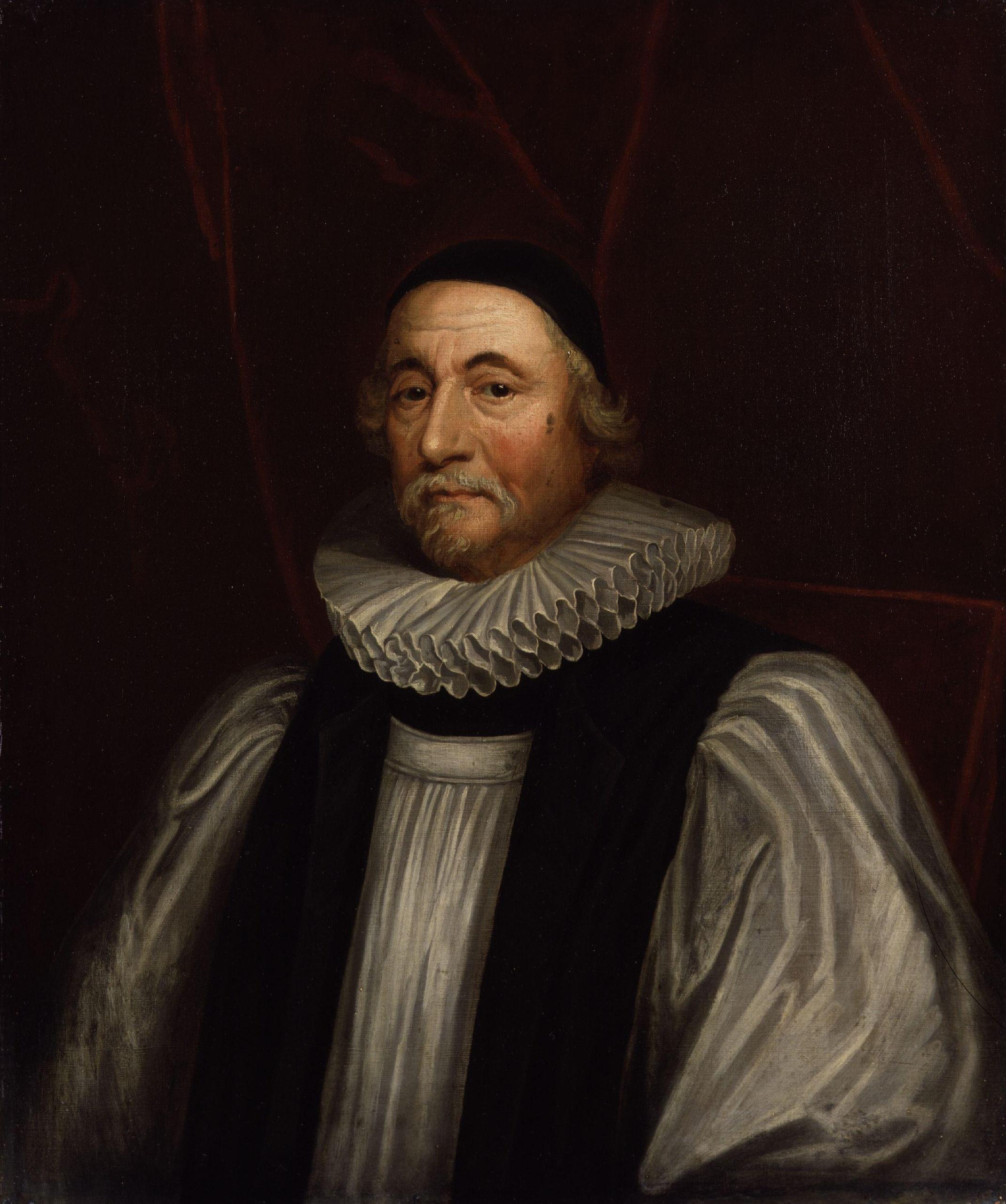 Archbishop James Ussher (1581-1656) (public domain; WikiMedia Commons).