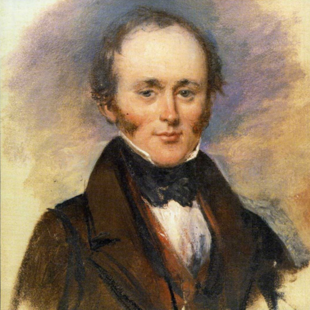 Portrait of Charles Lyell by Alexander Craig (1840) (public domain; Wikipedia).