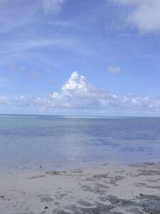 Shallow carbonate marine environment, Bahamas