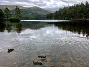 Loch an Eilean, lake near Aviemore, Scotland
