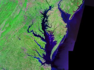 The area is a filled-in river valleys.