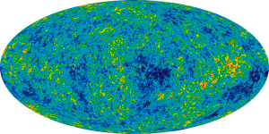 The map is blue with slight bright spots of green/yellow