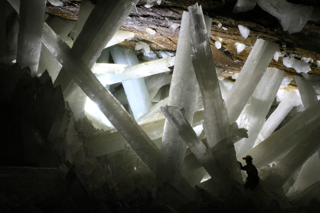 The crystals are huge!