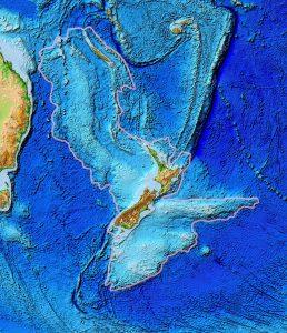 It shows Zealandia