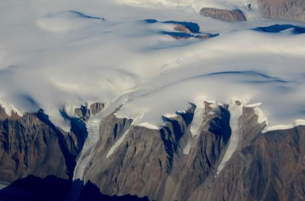 Greenland ice sheet.