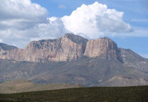 The entire mountain is one big fossil.