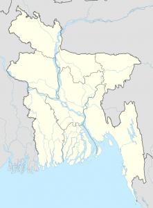 Tide-dominated delta of the Ganges River