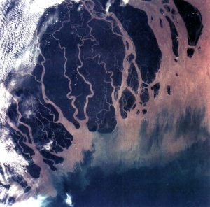Tidal delta of the Ganges River.